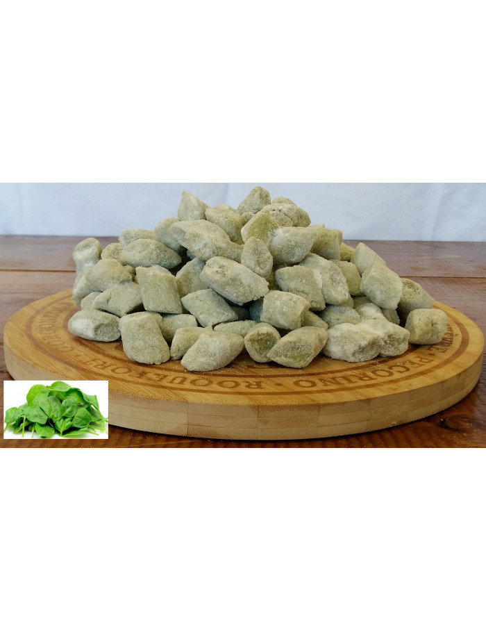 Spinach and potato gnocchi